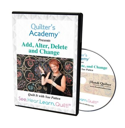Add, Alter, Delete and Change by Sue Patten